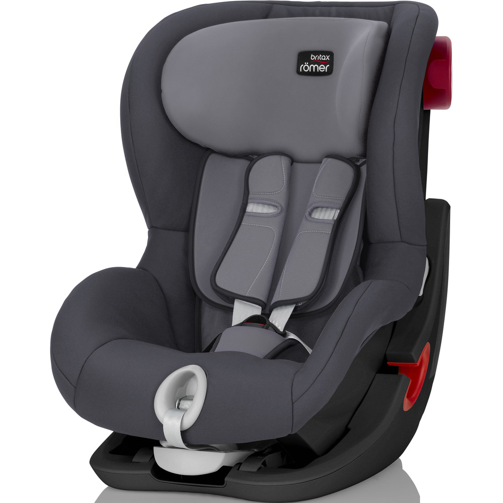 Автокресло 9-18 кг Britax Römer King II Storm Grey Black Series